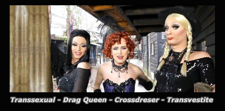 Trasnvestites Crossdersser Drag queen